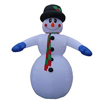 20 Foot Tall Inflatable Snowman