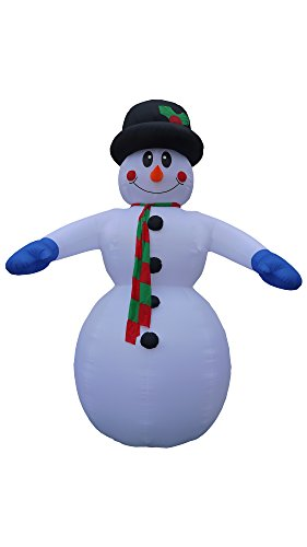 20 Foot Tall Inflatable Snowman by BZB Goods