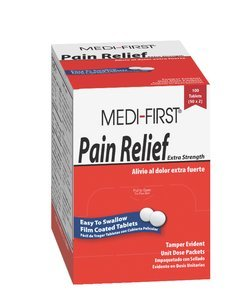 Pain Stoppers Extra Strength Pain Reliever w/Aspirin 100Ct, Pack of 10 ()