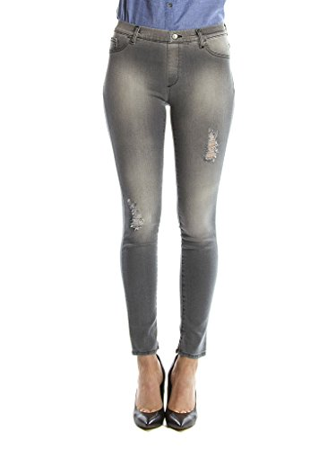 Carrera taille 970 femme extensible taille normale Denim pour tissu 767 Jeans Black skinny Jeans awqarp