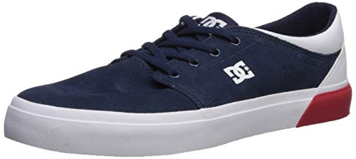 DC Men's Trase SD Skate Shoe Navy/White, 11.5D M US
