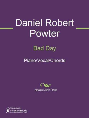 Bad Day Sheet Music (Bad Day Sheet Music)