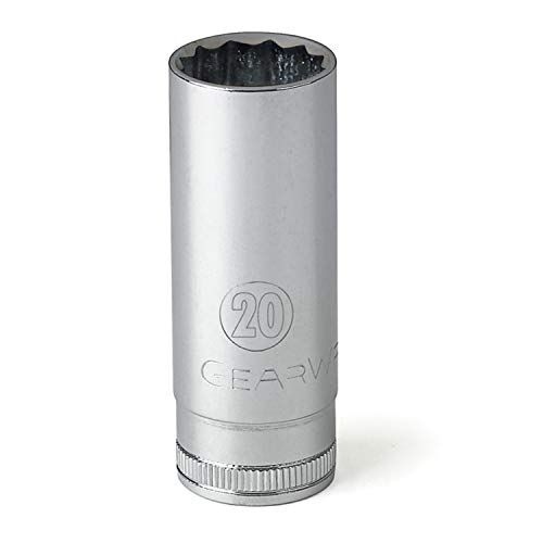 GEARWRENCH 80826 1/2-Inch Drive 12 Point Deep Socket 30mm ()