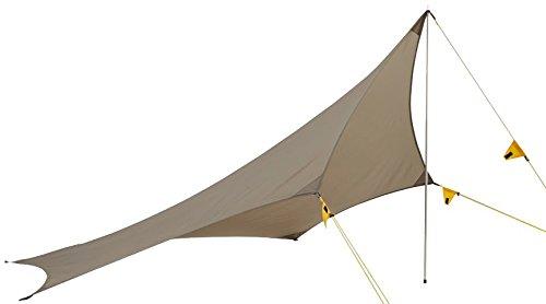 Wechsel tents Wing - Travel Line - Universelle Zeltplane Tarp, Braun