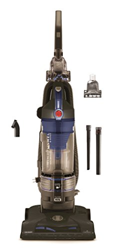 Hoover T-Series WindTunnel Rewind Plus Bagless Corded Upright Vacuum UH70122PC, Cobalt - Upright Vacuum Rewind Cleaner Bagless