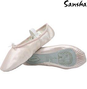Zapatos Tutú Demi Anglais 226 Rose 4s pointes Sansha De Mujer Baile 1EwCgqU