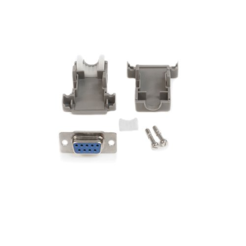 Db9 Solder Connector - StarTech.com Assembled DB9 Female Solder D-SUB Connector with Plastic Backshell (C9PSF)