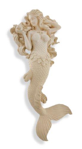 Museum White Modest Mermaid Wall Hanging