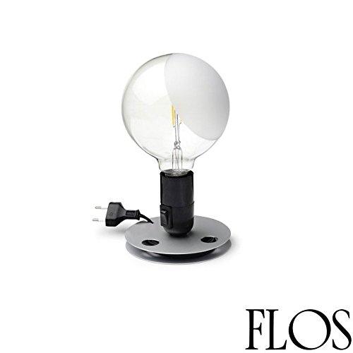 Flos Lampadina LED 2W E27 2700K Tischleuchte Schwarz F3300000