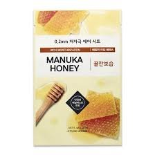 (3 Pack) Etude House 0.2mm Therapy Air Mask #Manuka Honey