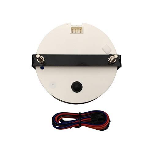 0-7000 RPM ELING tac/ómetro RPM tac/ómetro con medidor de horas para coche yate 85 mm con luz de fondo barco cami/ón