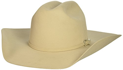 Bailey Western Men's Pro 5X Cattleman Cowboy Hat, Buckskin, - Hats Western Bailey