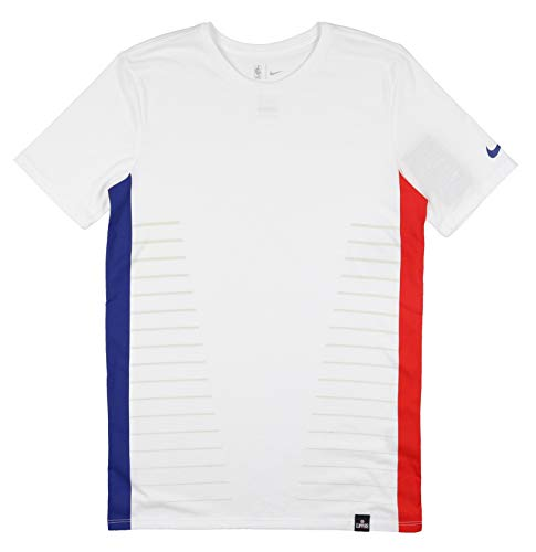 Nike Men's Los Angeles Clippers DNA T-Shirt X-Large White Blue Red