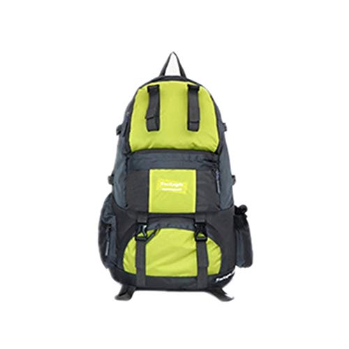 Large Yellow green Riding Sports Bag Trip 50l Outdoor Capacity Mountaineering Waterproof Grossartig Couple Outing Camping Backpack Travel ZS7faqaWF