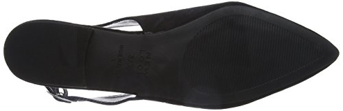 New Look 5099798, Zapatos Mujer Negro (Black)