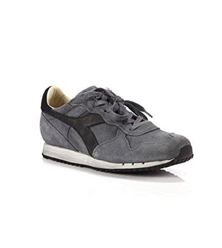Diadora Heritage, Uomo, Trident S SW Gray, Suede / Pelle, Sneakers, Grigio