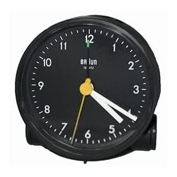 Braun Travel Alarm Clock AB5 Round Black