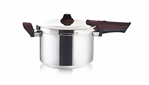 Buffalo Premium Stainless Steel 5-Quart Pressure Cooker [Rouge series]