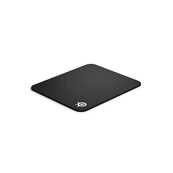 SteelSeries QcK Gaming Surface - Medium Thick Cloth - Best Selling Mouse Pad of All Time - Peak Tracking and Stability…