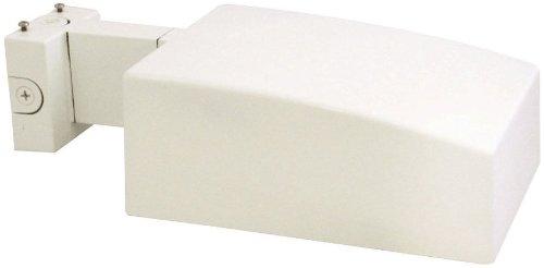 RAB AJH150XQTWPCT with PCT AJ Area Light 150W-Metal Halide QT Wall Mount + 120V T Photocell, White