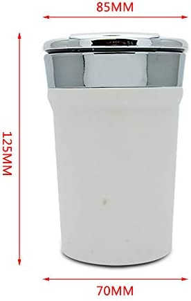 EUEMCH ユニバーサルLED車灰皿灰シリンダーカップホルダー車無煙煙カップホルダー自動車アクセサリー