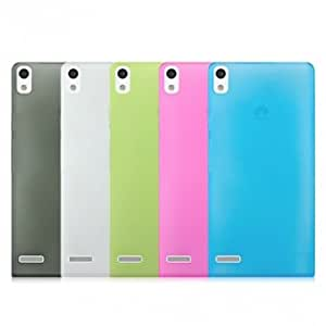 Matte Protective Case Cover For Huawei P6 Smart Phone --- Color:Pink