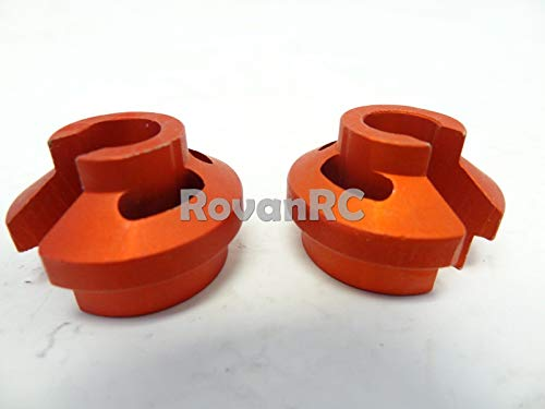 Hockus Accessories Rovan Shock Spring Retainers (6mm) Fits HPI 5b, 5t, 5SC, King Motor Buggy