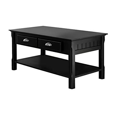 Winsome Wood Black Coffee Table