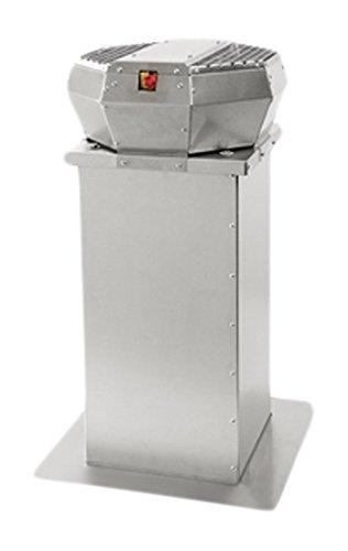 NOVY 655999 Motor accesorio para campana de estufa - Accesorio para chimenea (Motor, Acero inoxidable, 15 cm, ...