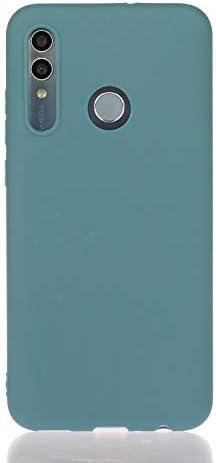 ChoosEU kompatibel mit Huawei P Smart 2019 / Honor 10 Lite Hülle Silikon Matt TPU Handyhülle Ultra Dünn Bumper Stoßfest Schwarz Silikonhülle Slim Case Schutzhülle Soft Design Cover - A
