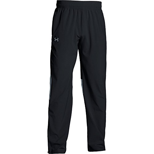 Woven Warm Up Pant - Under Armour Men's Squad Woven Warm-up Pant (Medium, Black)