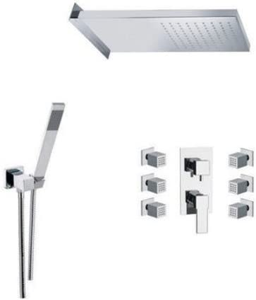 Brushed Nickel Cleveland Faucets 40015BN Cornerstone Single-Handle Bathtub and Shower Volume Control Handle Kit