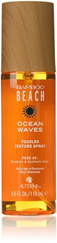 Ocean Waves Tousled Texture Spray for Unisex, 4 Ounce (Anti Frizz Styling Shimmer)