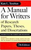 Sp-Manual for Writers/7th, Kate L. Turabian, 075698355X
