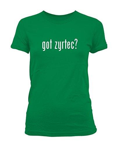 got-zyrtec-ladies-juniors-cut-t-shirt-green-small