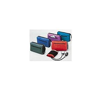 Logiko - Tensiómetro aneroide coordinado con fonendo, color rojo: Amazon.es: Salud y cuidado personal