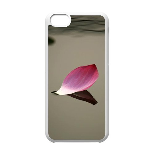 SYYCH Phone case Of Beautiful Petals Falling Cover Case For Iphone 5C