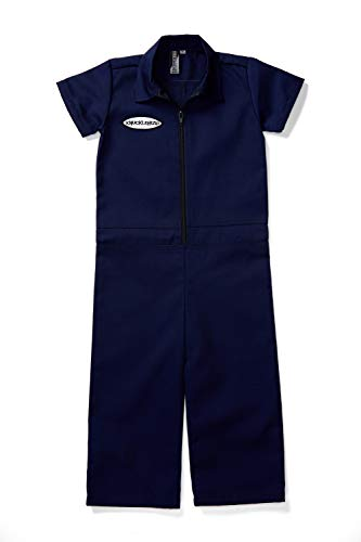 Born to Love Kids Coverall for Boys, Mechanic Halloween Jumpsuit Costume Baby Outfit (6t, -