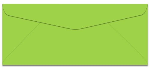 Lime Green Envelopes (Bright Color #10 Envelopes - 50 Envelopes (Lime Green))