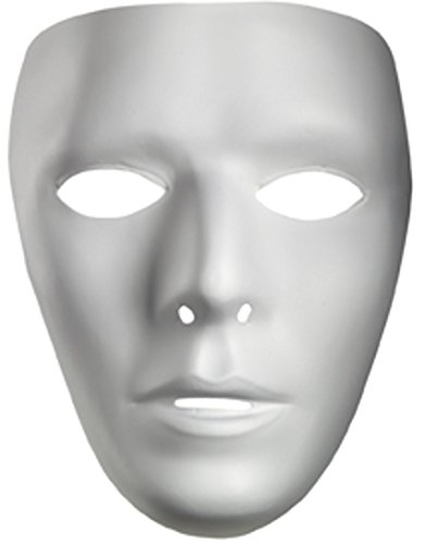 Adults Blank Halloween Costume Facemask