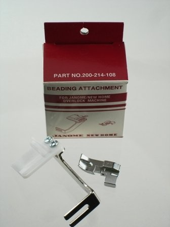 Janome Serger Overlock Beading Attachment
