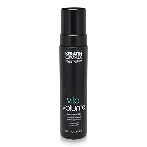 - New - Keratin Complex By Coppola Vita Volume Boosting Foam 8.5 Oz (Black Packaging)