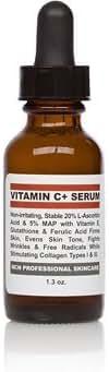 NCN Pro Skincare 20% Vitamin C+ Serum With Vit. E, Ferulic Acid & Glutathione (1.3 oz.)