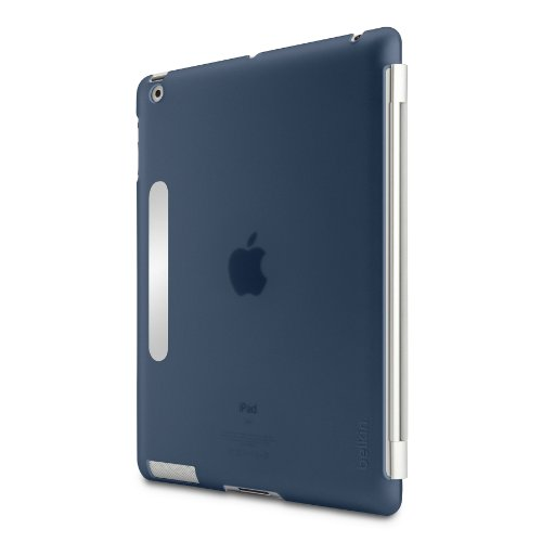 Snap Shield Secure for New Apple iPad 3rd Generation, HD, 1080P, WiFi, 4G LTE, AT&T, Verizon (Navy)
