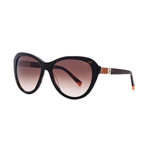 JO Designer Womens Cateye Round Acetate CR 39 Sunglasses with Carl Zeiss Lens J5105 - Zeiss Carl For Sale Sunglasses