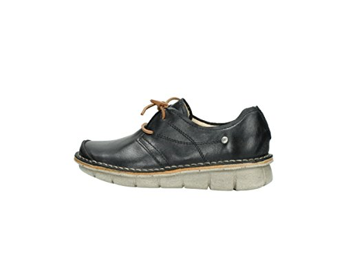 à nbsp;– lacets Black 8387 Wolky nbsp;Milton Leather 307 Chaussures xOpqgg