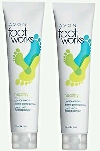 - Foot Works Healthy Pumice Creams - 100ml 3.4 fl oz.(Pack of 2)