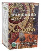 Флора - Органические Травяной чай Смесь Hawthorn без кофеина - 16 чайных пакетиков