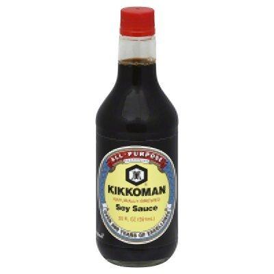 - Kikkoman Soy Sauce 20 Oz (Pack of 2)