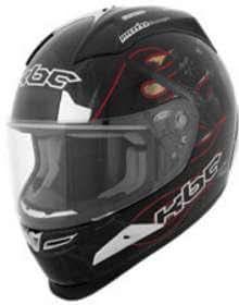 KBC Helmets FORCE RR ROAD WAR SIZE:XSM Motorcycle Full-Face-Helmet